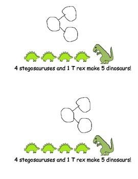 Number Bonds for Kindergarten: PACK of Sets 1,2 and 3