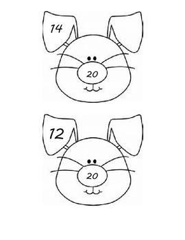 Number Bond Practice with Bunny Bonds!