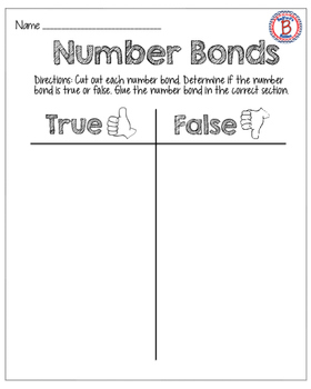 Number Bond Preview