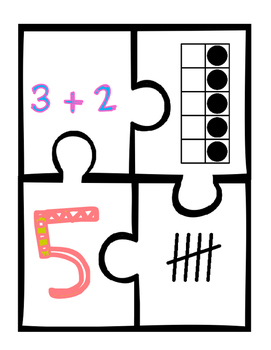 Number Bond Puzzles 1