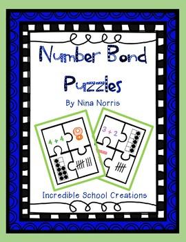 Number Bond Puzzles 1