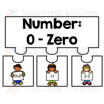 Number Bond Puzzles, Jigsaws, 0 - 20