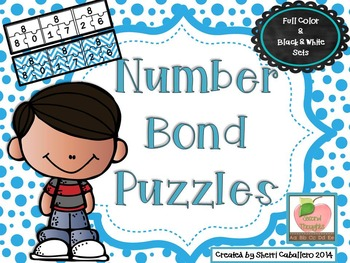 Number Bond Puzzles: Practice With Numbers 5-20