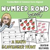 Number Bond Scoot | Math Scavenger Hunt | Math Center Activity