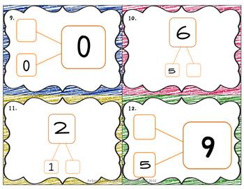 Number Bond Scoots (Task Cards)