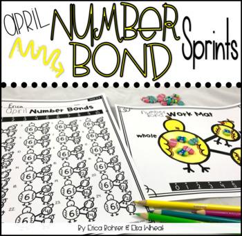 Number Bond Sprints: April