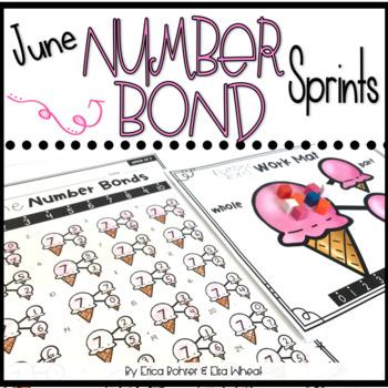 Number Bond Sprints: June
