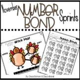 Number Bond Sprints: November