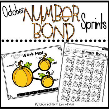 Number Bond Sprints: October
