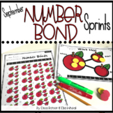 Number Bond Sprints: September