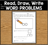 Number Bond Story Word Problems Common Core Supplement