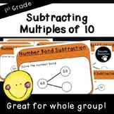 Number Bond Subtraction-Teacher Slides (First Grade, 1.NBT.6)