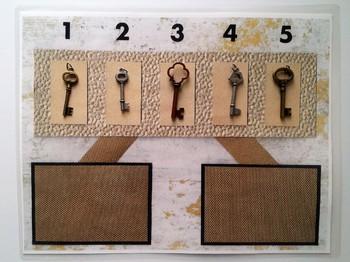 Number Bond (Sum of 5) - Magic Keys