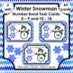 Number Bond Task Cards 0-18  • Holiday / Seasonal  Bundle