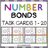 Number Bond Activities (Task Cards) 1 To 20