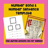 Number Bond and Equations Templates (Addition only , Subtr