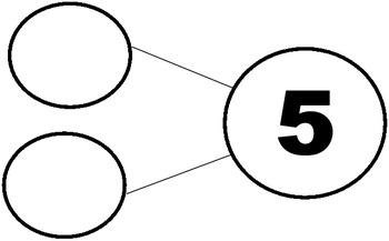 Number Bond templates K-5