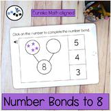 Number Bond to 8 DIGITAL Eureka Math Mod 4 Topic B Center