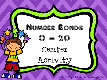 Number Bonds 0-20