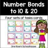 Number Bonds 0-20 Task Cards