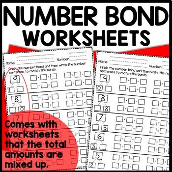 #fireworks2020 Number Bond Worksheets |  BOOM CARDS™ DISTANCE LEARNING