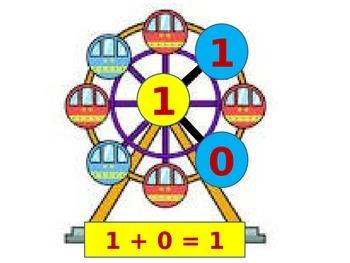 Number Bonds 1-10 (+1) with Worksheet