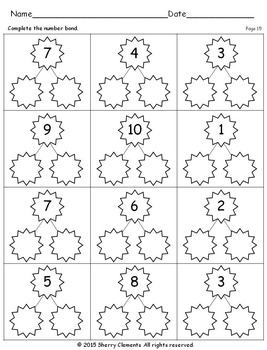 Number Bonds 1-10