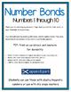 Number Bonds - 1-10