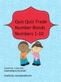 Number Bonds 1-10 Quiz Quiz Trade