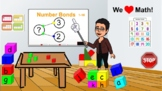 Number Bonds 1-10 with changing number bond rotation - Virtual Write the Room