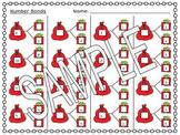 Number Bonds 1-10//Santa's Toy Bag Theme