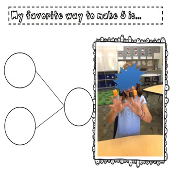 Number Bonds 1-5 Activity