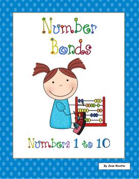 Number Bonds 1 to 10