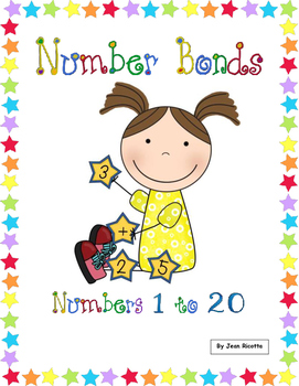 Number Bonds 1 to 20 - Common Core Math