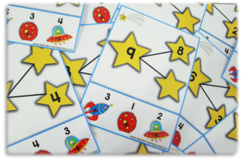 Number Bonds 1 to 20 - Poke Cards   EDITABLE