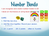 Number Bonds 10 and 20: Dice Game