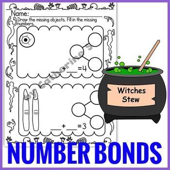 Number Bonds to 10 - Halloween