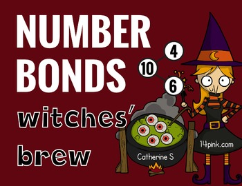Halloween Math - Number Bonds to 10