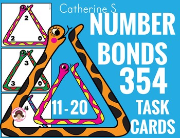 Number Bonds to 20 Fact Families