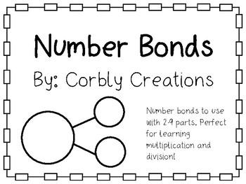 Number Bonds 2-9 parts
