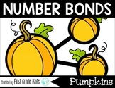 Number Bond Part Part Whole Task Cards Fall Pumpkins