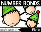 Number Bond Task Cards Santa's Elves