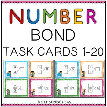 Number Bond Task Cards