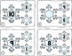Number Bond Part Part Whole Task Cards Winter Snowflakes
