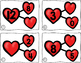 Number Bond Task Cards Valentine's Day Hearts