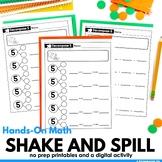 Number Bonds Math Center Activity