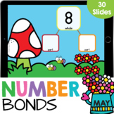 Number Bonds 3-10: Decomposing Numbers Math Google Slides (May)