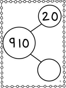 Number Bonds - 3 digit numbers