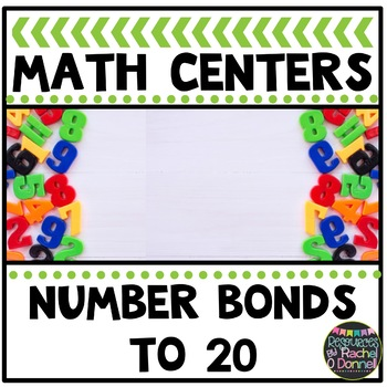 Math Center Number Bonds 5 - 20
