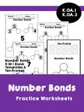 Number Bonds 5, 6, 7, 8, 9 , 10 Practice